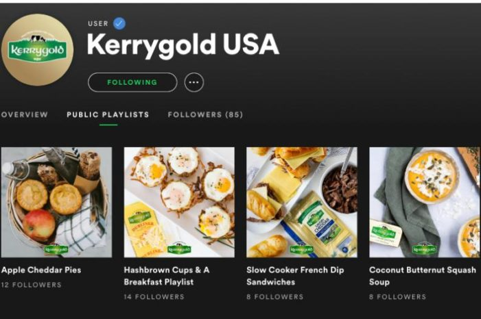 New Kerrygold Campaign by Energy BBDO Pairs Recipes with Spotify Playlists