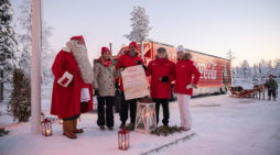 Coca-Cola Christmas Truck Makes First-Ever Stop on the Arctic Circle to Meet Santa and His Reindeer