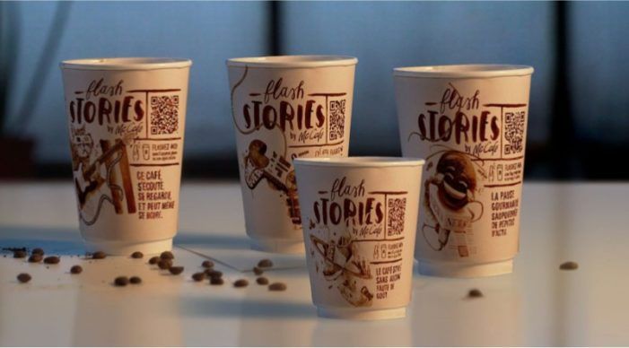 McDonald's France Launches Coffee Cup News Stories with Faux-Horror Cinema Ad