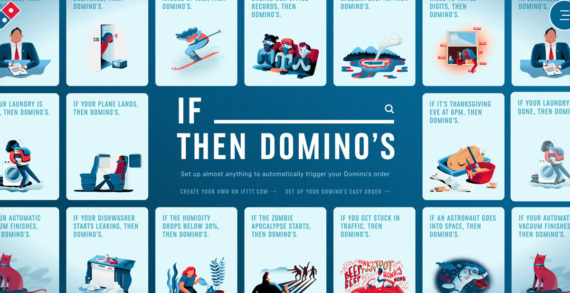 Legwork and CP+B Hack IFTTT Platform to Create 'If This, Then Domino's'
