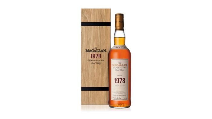The Macallan Unveils The 1978 Fine & Rare Vintage
