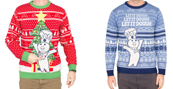 Pillsbury Debuts First-Ever Line of Doughboy Ugly Christmas Sweaters to Celebrate the Holidays