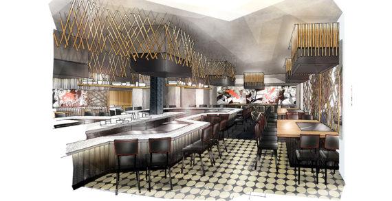DesignLSM Reveal Details of the New Design for the Launch of Benihana Glasgow