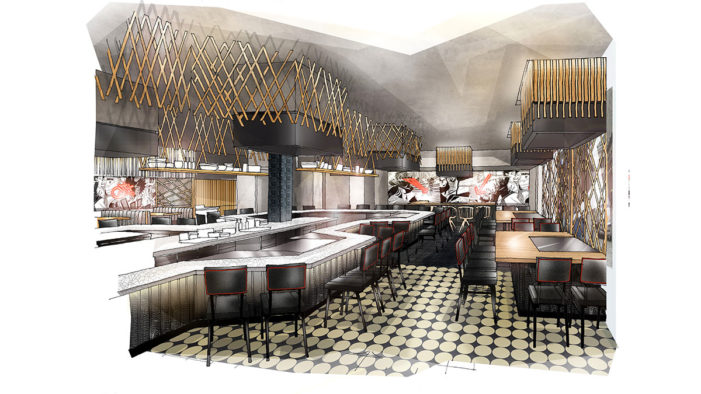 DesignLSM Reveal Details of the New Design for the Launch of Benihana Glasgow