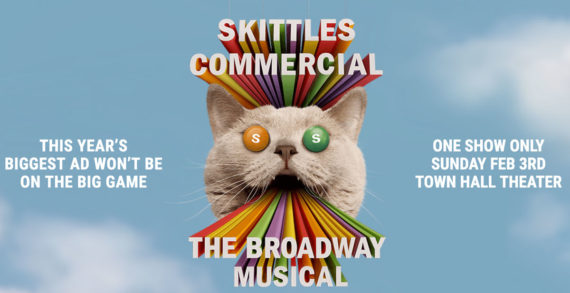 SKITTLES' Super Bowl Ad by DDB Worldwide is Broadway Bound