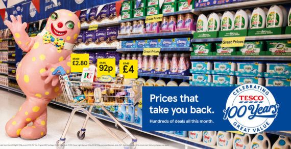 Tesco 'Takes Us Back' with Nostalgic Campaign by BBH to Mark Centenary