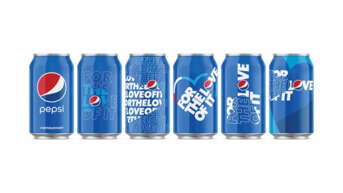 Pepsi Unveils Global 'For the Love of It' Strapline in Marketing Overhaul